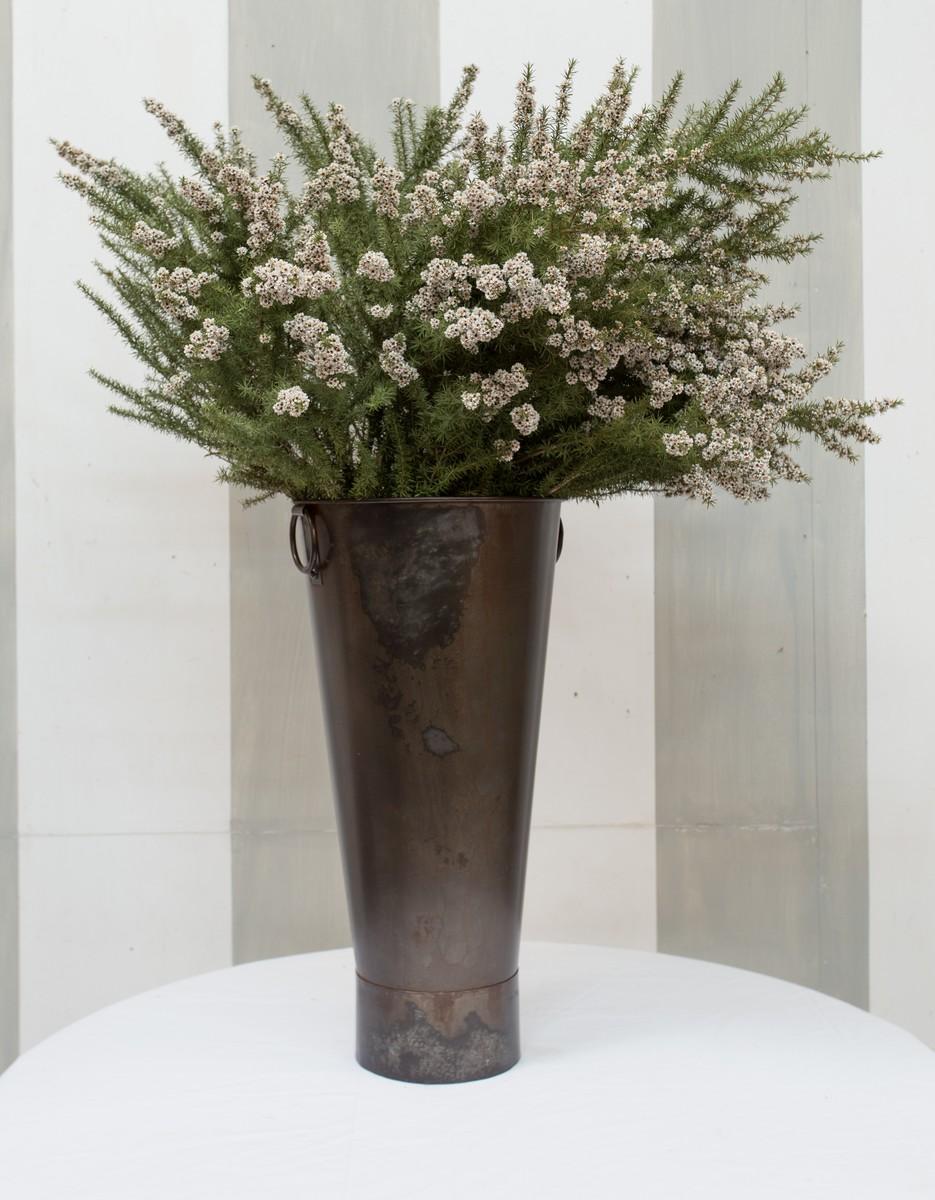 Tall Metal Flower Tub – Furniture Road